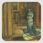 The Eve of St. Agnes fine art Square Sticker