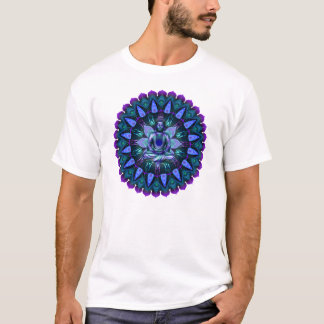The Evening Light Buddha Mandala T-Shirt