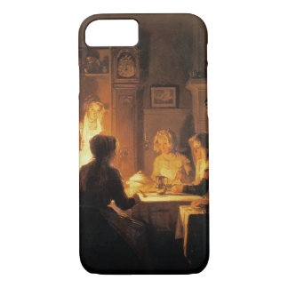 The Evening Meal, c.1900 (oil on canvas) iPhone 8/7 Case
