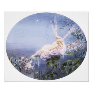 The Evening Star, Fairy Painting Posters