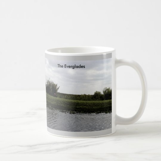 The Everglades Watercolor Coffee Mug