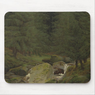 The Evergreens by the Waterfall Mouse Mat