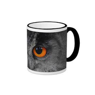 The Evil Eyes Eagle Owl Bubo Bubo Mug