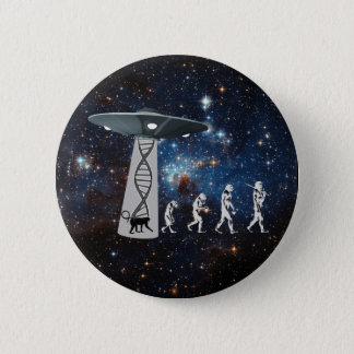 The Evolution Conspiracy 6 Cm Round Badge