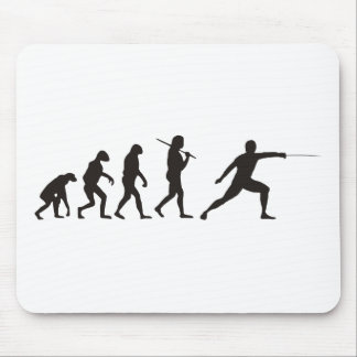 The Evolution Of Fencing Mouse Mat