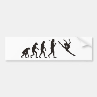 The Evolution of the Dancer Bumper Sticker