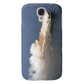 The ex-Oriskany, a decommissioned aircraft carr Galaxy S4 Case
