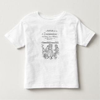 The Examinations of Anne Baker, Joanne Willimot Toddler T-Shirt