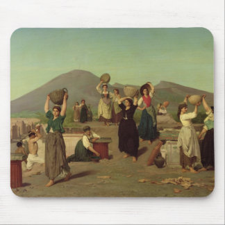 The Excavations at Pompeii, 1865 Mouse Mat