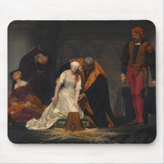 The Execution of Lady Jane Grey Mouse Mat