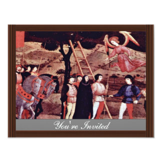 The Execution Of The Repentant Woman A Prayer Spea 11 Cm X 14 Cm Invitation Card