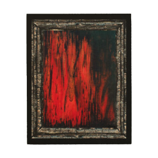 The Executioner Wood Canvas