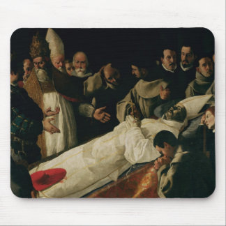 The Exhibition of the Body of St. Bonaventure Mouse Mat