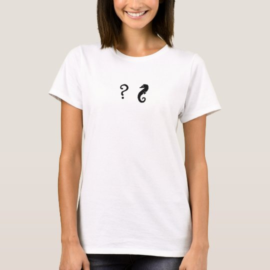 The Existential Seahorse_Infatuation T-Shirt