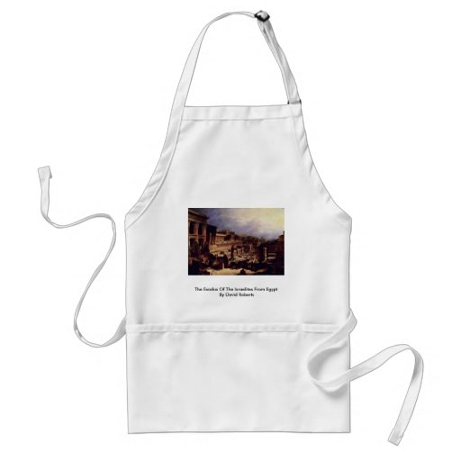 The Exodus Of The Israelites From Egypt Aprons