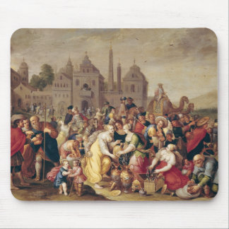 The Exodus or The Vases of the Egyptians Mouse Mat