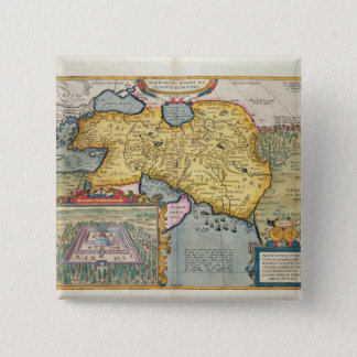 The Expedition of Alexander the Great 15 Cm Square Badge