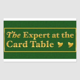 The expert AT the card table to sticker (Green)