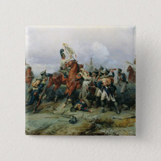 The Exploit of the Mounted Regiment 15 Cm Square Badge