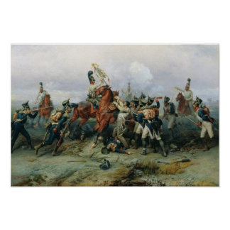 The Exploit of the Mounted Regiment Poster