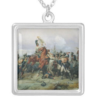 The Exploit of the Mounted Regiment Silver Plated Necklace