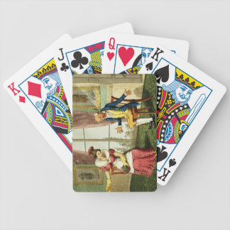 The Expostulation, pub. by G. Humphrey, 1821 (colo Bicycle Playing Cards