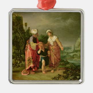 The Expulsion of Hagar, 1612 Christmas Ornament
