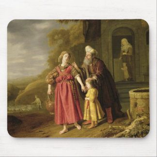 The Expulsion of Hagar and Ishmael, c.1644 Mouse Pad