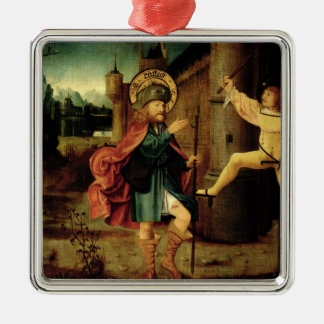 The Expulsion of Saint Roch from Rome Christmas Ornament