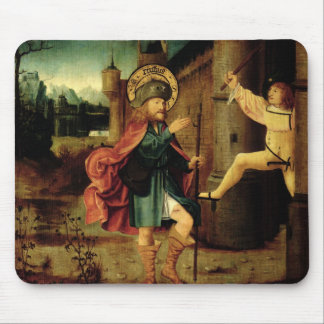 The Expulsion of Saint Roch from Rome Mouse Mat