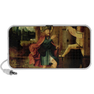 The Expulsion of Saint Roch from Rome Portable Speakers