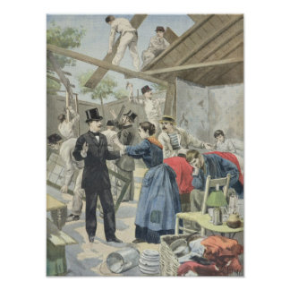 The Expulsion of the Poor from the Slums Poster
