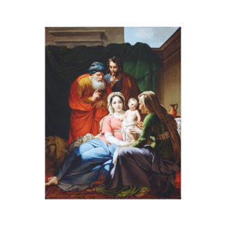 THE Extended Holy Family. Canvas Print