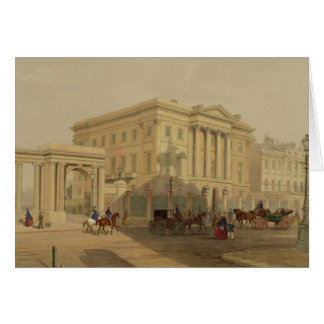 The Exterior of Apsley House, 1853, by J. Dillon ( Card