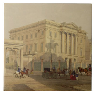 The Exterior of Apsley House, 1853, by J. Dillon ( Large Square Tile