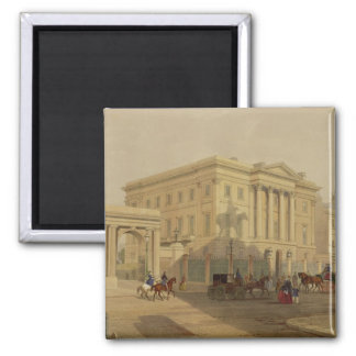 The Exterior of Apsley House, 1853, by J. Dillon ( Magnet