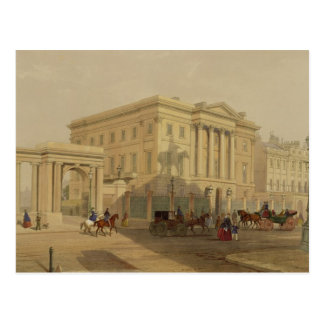 The Exterior of Apsley House, 1853, by J. Dillon ( Postcard