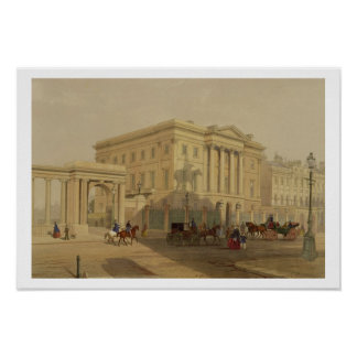 The Exterior of Apsley House, 1853, by J. Dillon ( Poster