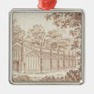 The Exterior of Prince of Wales's Conservatory Christmas Ornament