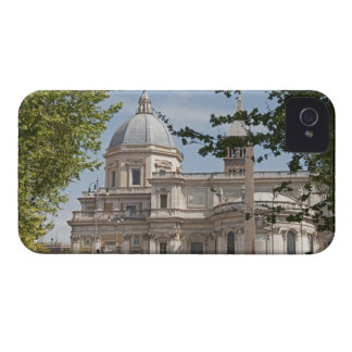 The exterior of Saint Maria Maggiore church in iPhone 4 Cases