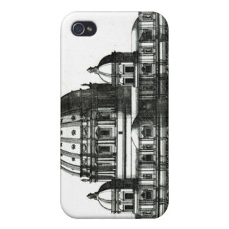The Exterior of St. Peter's Basilica in Rome Case For The iPhone 4