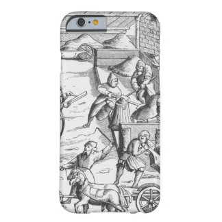 The extraction of metals, after a woodcut in 'Cosm Barely There iPhone 6 Case
