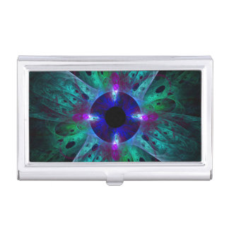The Eye Abstract Art Business Card Holder
