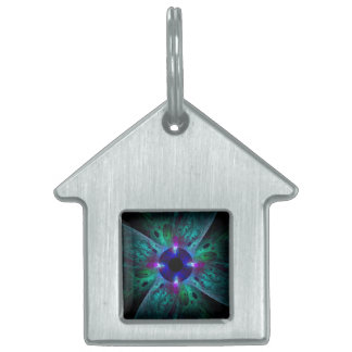 The Eye Abstract Art House Pet Tags