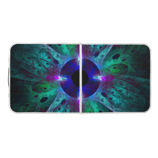 The Eye Abstract Art Pong Table