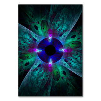 The Eye Abstract Art Table Card