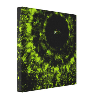 The eye is always watching gallery wrap canvas