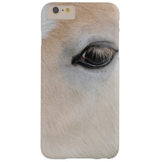The eye of a Haflinger Rare Breed Pony Barely There iPhone 6 Plus Case