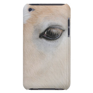 The eye of a Haflinger Rare Breed Pony iPod Case-Mate Case
