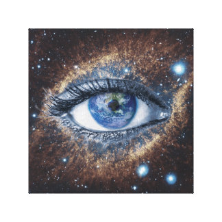 The Eye of God Canvas Print